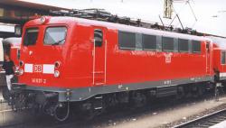 E-Lok BR 141 verkehrsrot, DB