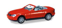 Minikit Mercedes-Benz SLK, rot