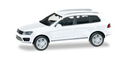 VW Touareg, Pure White