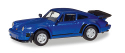 Porsche 911 Turbo, blaumetallic