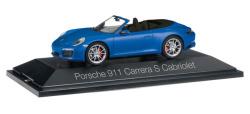 Porsche 911 Carrera S Cabriolet 991 II, saphirblau metallic