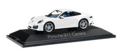 Porsche 911 Carrera Coupé 991 II, carraraweiß metallic