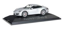 Porsche 911 Carrera 4 S Coupé, rhodiumsilber metallic