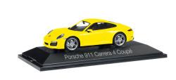 Porsche 911 Carrera 4 Coupé, racinggelb