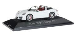 Porsche 911 Targa 4S, weiß