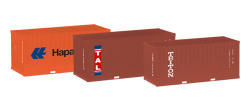 Set 3 x 20 ft. Container (Hapag Lloyd / TAL / Triton)