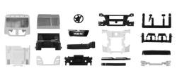 Teileservice Fahrerhaus MAN TGX XL Euro 6 ohne WLB & Dachspoiler