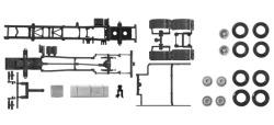 Teileservice Fahrgestell LKW MAN Euro 6, 7,45m 3-achs