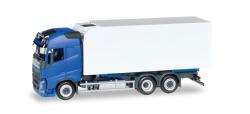 Volvo FH Gl. Kühlkoffer-LKW, blau/weiß