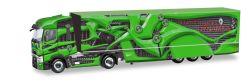 Renault T Koffer-Sattelzug Tour de Dynamics, grün