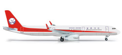 A321 Sichuan Airl. with shar