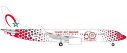 Boeing 737-800 Royal Air Maroc 60th anniversary