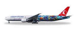 Boeing 777-300ER Turkish Airlines Istanbul-San Francisco