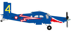 Pilatus PC-6 Turbo Porter Austrian Air Force Blaue Elise