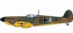 Spitfire MK.I Luftwaffe Beuteflugzeug / captured aircraft