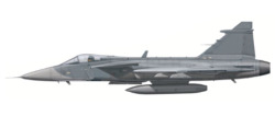 Saab JAS-39 Gripen Basic scheme with decals
