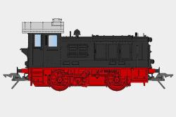 Diesellok V20 DB-Version