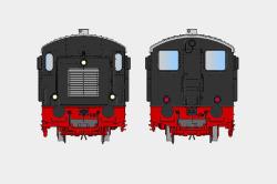 Diesellok V20 021 DB-Version