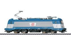 E-Lok BR 380 CD in blau/silberner Farbgebung Bnr 380 001
