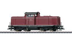 Diesellok BR 212, purpurrot, DB, Ep. IV