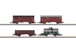 $ Wagenset Gütertransport DR EP. IV