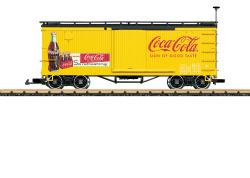 Coca Cola gedeckter Güterwagen