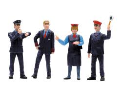 Figurenset Bahnpersonal Schweiz