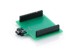 Adapterplatine für Decoderprogrammer