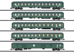 Schnellzugwagen-Set D 360, DB, Ep. IV