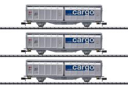 Schiebewandwagen-Set, SBB Cargo, Ep.VI