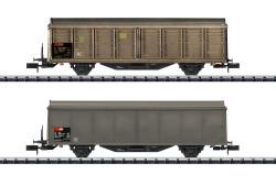 Schiebewandwagen-Set der SBB