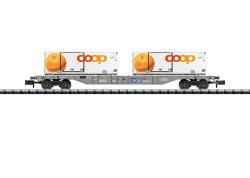 Containertragwagen Lebensmitteltransport