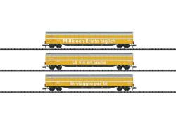 Güterwagen-Set der Post, SBB