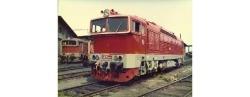 Diesellok T478.3 der CSD