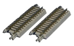 R024/track straight, 55 mm, with connection cover, 2 pcs.
