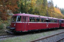 N-Schienenbus 798 + Steuerwagen 998.6 DB IV
