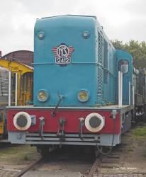 N-Diesellok Rh 2400 blau NS
