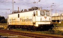 ~E-Lok 109 Scandlines V + lastg. Dec.