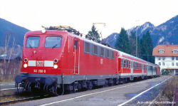 Soundlok/ E-Lok BR 141 DB AG V, verkehrsrot