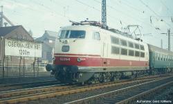 ~E-Lok BR 103 DB IV Schürze, Scherenpantos DB IV + lastg. Dec.