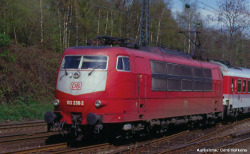 ~E-Lok BR 103 DB AG V, Einholmpantos + lastg. Dec.