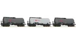 Set Knickkesselwagen ERMEWA 3-t