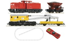 Digi-Set:Diesellok BR204+Bauzu