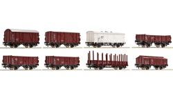 Güterwagenset ÖBB 8-tlg.