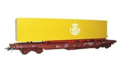 EH-Taschenwagen + Auflieger Correos