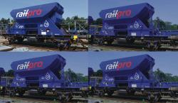 4er Railpro H20 Schotterwage