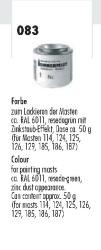 Farbe grün/grau in Dose (ca.50g) f.Strecken und T-Mast