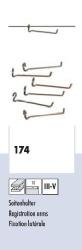 H0 Leichtbau-Seitenhalter f. Profi (10 Stück)