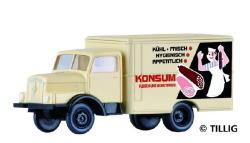 LKW H3A Kofferaufbau KONSUM Fleischwaren