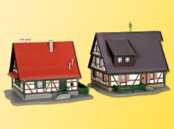 KIB/Z Fachwerkhäuser 2 Stück